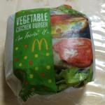 【食レポ】マクドナルドのベジタブルチキンバーガーとモグモグマックの感想を会話してみた