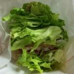 【食レポ】バンズを野菜に替えたモスバーガーの菜摘シリーズを食べた感想を会話してみた
