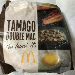 【食レポ】マクドナルドのたまごダブルマックを食べた感想を会話してみた