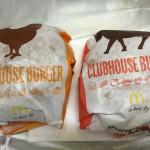 【食レポ】マクドナルドのクラブハウスバーガー(ビーフ・チキン)の感想を会話してみた