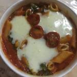 【食レポ】セブンイレブンのマルゲリータ風とろ~りチーズグラタンの感想を会話してみた