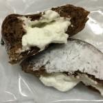 【食レポ】セブンイレブンのココアドーナツ(ホイップクリーム入り)の感想を会話してみた