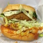 【食レポ】モスバーガーのリッチ海老カツバーガー蟹チリソースの感想を会話してみた
