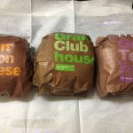 【食レポ】マクドナルドのグラン(ベーコンチーズ&クラブハウス&てりやき)の感想を会話してみた