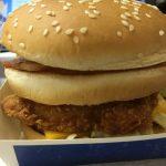 【食レポ】マクドナルドのアメリカンデラックスバーベキュー(ビーフ・チキン)の感想を会話してみた